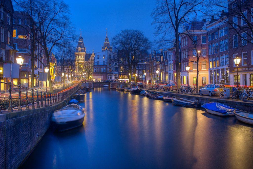 Grachten Amsterdam Nederland